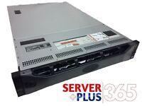 Dell PowerEdge R720XD 3.5 Server, 2x E5-2670 2.6GHz 8Core, 128GB, 12x 4TB, H710