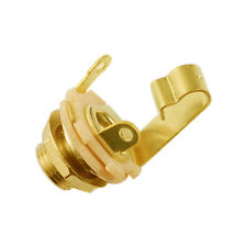 "Switchcraft JACK SOCKET 1/4"" Placa de Oro (Mono)"