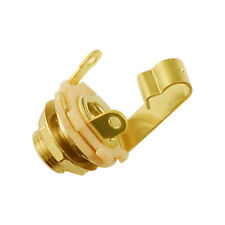 "Switchcraft Jack Socket 1/4"" Gold Plate (mono)"