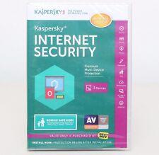 Kaspersky Internet Security for 3 Devices Retail - BestBuy Version -Read details