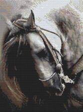 Español Semental Caballo puntada cruzada contada Kit de Vida Silvestre/caballo Diseños En Hilo