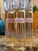 3 Bath & Body Works In the Stars Fine Fragrance Mist Body Spray perfume 8 OZ