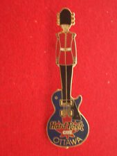 HRC Hard Rock Cafe Ottawa Royal Guardsman Guitar 2002 New OVP