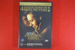 A Beautiful Mind - DVD - Fast Postage !!