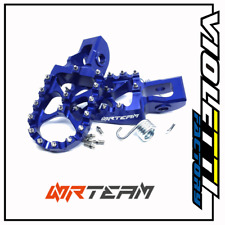 Coppia pedane in ergal KTM 250 EXC-F (17-19) blu	NRTEAM	DS98.0798B