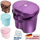 Rotho Baby Nappy Changing Dispose Bin Bucket Pail Container with Spring Lid