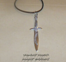 Lotr Lord of the Rings The Sting Sword Pendant Necklace Sterling Silver .925