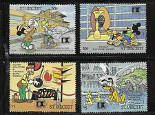 HICK GIRL- MINT ST. VINCENT STAMPS    DISNEY  MICKEY'S ARCHITECTURE      T224