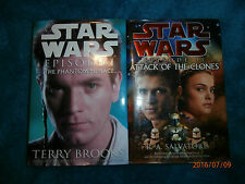 Star Wars Episodes 1 & 2 (Hardcovers) Phantom Menace Attack of the Clones
