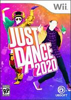 Just Dance 2020 Nintendo Wii Brand New