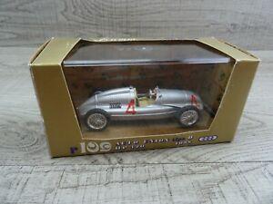 Brumm R109 Auto Union Type D 420 HP 1938 Diecast Model Car 1:43 Scale Boxed
