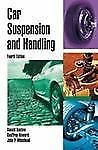 CAR SUSPENSION AND HANDLING - NEW HARDCOVER BOOK