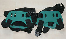 "3 pairs of brand new GV bindings for snowshoes ""GREEN"" FREE SHIPPING!"