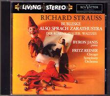 Fritz REINER: STRAUSS Also sprach Zsrathustra Burleske BYRON JANIS Living Stereo