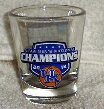 2012 FINAL FOUR UK KENTUCKY WILDCATS NCAA national CHAMPS shot GLASS #1