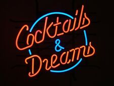 1950s American Style Retro Neon Diner Sign Hanging Standing - COCKTAILS & DREAMS