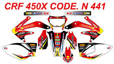 N 441 HONDA CRF 450X 2005-2014 Autocollants Déco Graphics Stickers Decals Kit