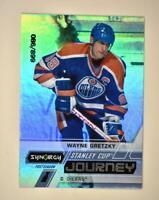 2020-21 UD Synergy Stanley Cup Journey Post-Season #CJ-WG Wayne Gretzky /899