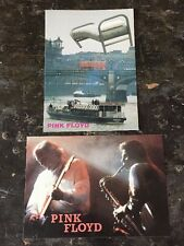 "Pink Floyd Set Of (2)Vintage Rare Import UK 🇬🇧 Stickers 4""x 6"" Mint"