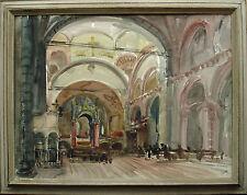TOMMASO GNONE (Torino 1906 - Recco 1988)Basilica di S.Ambrogio,Milano