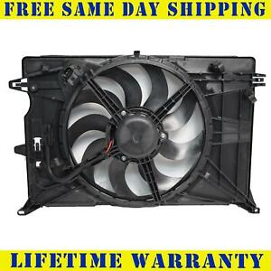Radiator And Condenser Fan For Jeep Renegade Fiat 500X CH3115181
