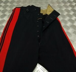 Genuine Vintage British Army Dress Trousers Life Guards H Cav Faulty EBYT401