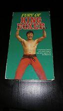 Fury of King Boxer (Rare Martial Arts VHS, 1989) Yu Wan