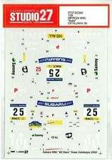"STUDIO27 1/24 SUBARU IMPREZA WRC ""Spike"" CATALUNYA '00 for TAMIYA DC343 Decal"