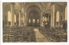 AK Oosterzele, Oosterzeele, Binnenzicht der Kerk, 1910