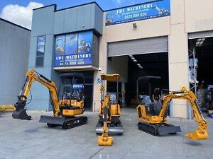 EXCLUSIVE DISTRIBUTOR! 2021 SWING BOOM MODEL UHI UME10 10HP Mini Excavator