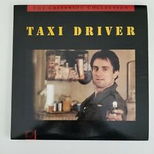 Taxi Driver The Criterion Collection Laserdisc Full Feature (Cav) Rare Free Ship