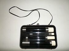 MIMCO Accordian Black Patent Leather Clutch and Bag