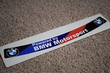 BMW Motorsport Visor Helmet Sunstrip Sport Racing Motorbike Bike Decal Sticker