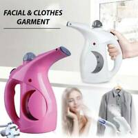Mini Portable Garment Steamer Facial Ironing Steamer Clothes Face Travel EU Plug