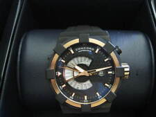 Concord C1 WorldTimer 18K Gold DLC Automatic Mint Complete Box