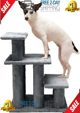Pet Steady Paws Furniture Assist Multi Step Dog Stairs For High Beds Durable New