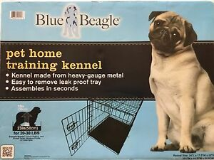 Blue Beagle Pet Training Crate 24 Inch