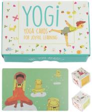Yogi Fun Kids Yoga Cards Kit with Illustrations, Rhyming Poems, Birthday Activit
