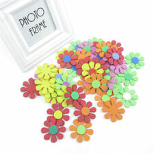 CHILDREN/'S CRAFTS//CARDMAKING//SCRAPBOOKING 20 POMPOM FLOWER FOAM STICKERS