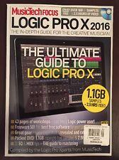 Music Tech Focus Logic Pro X Ultimate Guide Freeware Gear 2016 Future FREE SHIP
