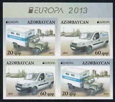 Aserbaidschan ungezähnt, Azerbaijan imperforated, Europa CEPT 2013, Zsdr.-VB **
