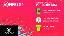 FIFA 20 (Xbox One) Pre-Order DLC - 3 Gold Packs, Loan Icon Player Bonus Content!