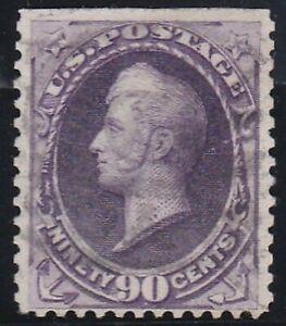 USA 1887 90c PURPLE GENERAL WINFIELD SCOTT USED