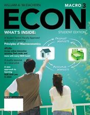 Econ Macro 3 (2012-2013) by William A. McEachern - Student Edition - FREE SHIP