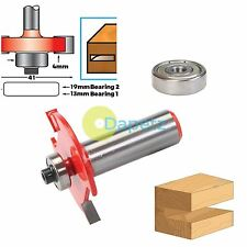 """1/2"""" Shank Biscuit Cutter Router Bit No.10 & 20 TCT Biscuit Joiner Set"""