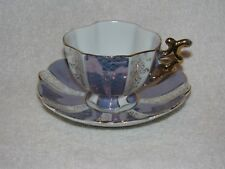 Vintage German Porcelain Tea Cup & Saucer