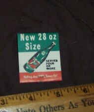 NEW 28 OZ SIZE 7 - UP MATCHES SERVES FOUR OR MORE
