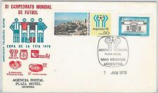 54378  - FOOTBALL - ARGENTINA -  POSTAL HISTORY: 1978  SPECIAL Cover