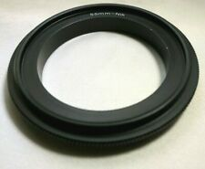55mm Macro Reverse Lens Adapter Ring For Nikon F ai D750 D7200 cameras Close-up