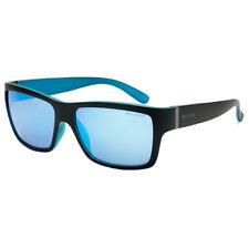 e86a6ab60e Bloc Nuevo Hombre Elevador Gafas de Sol - Negro Mate / Azul/Azul Espejo con
